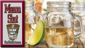 Home Essentials Del Sol Mason Jar 5oz Shooters, Set of 6